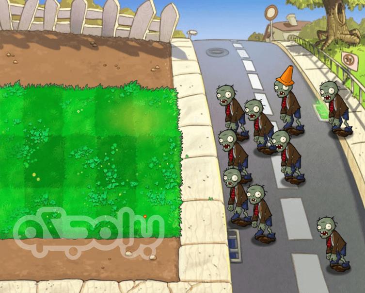 لعبة Plants VS Zombies للاندرويد