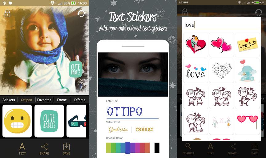 تطبيق Ottipo Photo Editor