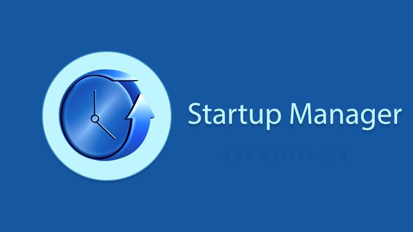 ستارت أب مانجر Startup Manager