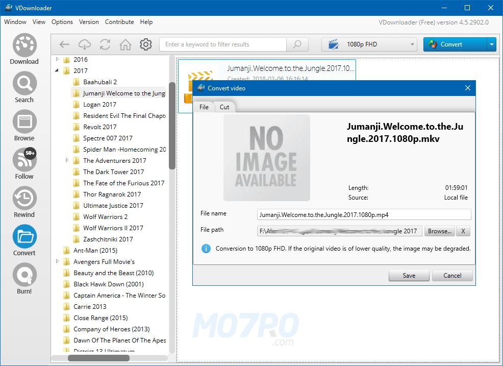 تحميل برنامج تحميل الفيديو من النت للكمبيوتر مجانا